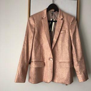 TopShop Rose Gold Blazer